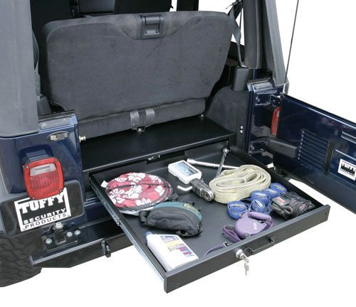 Tuffy Security Products Full Length Underseat Drawer