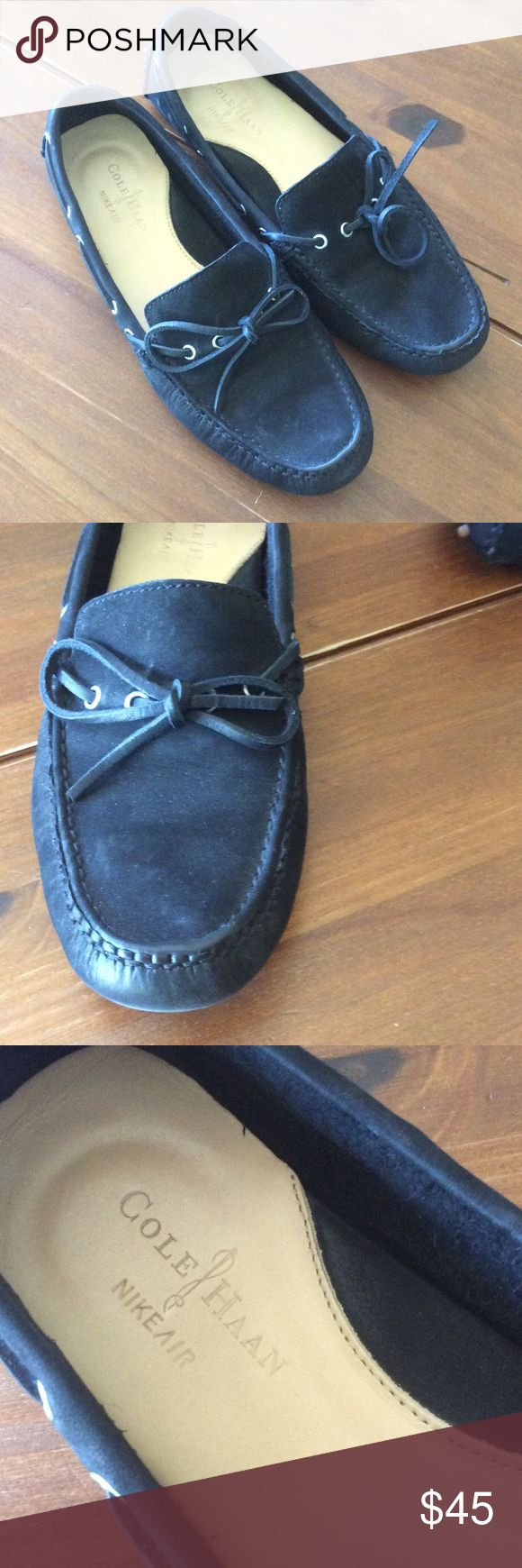 Cole Haan black driving loafers Mint condition black Cole Haan driving loafers, worn a handful of times, size 7 women's Cole Haan Shoes Flats & Loafers