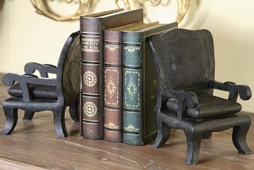 Chair book ends