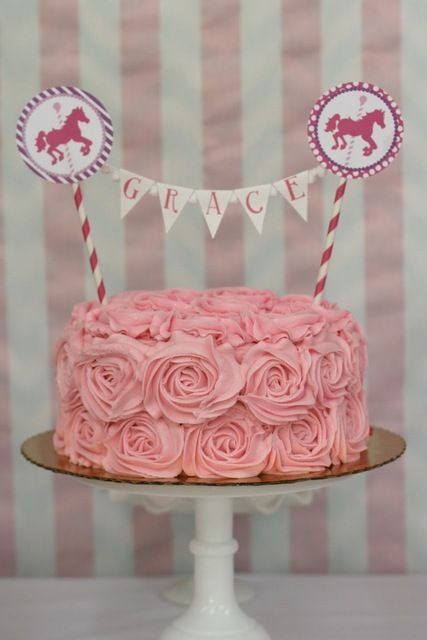 Pink Girl Party Birthday Party Ideas
