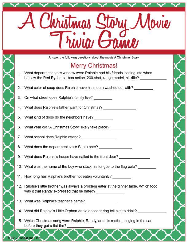 A Christmas Story Movie Trivia