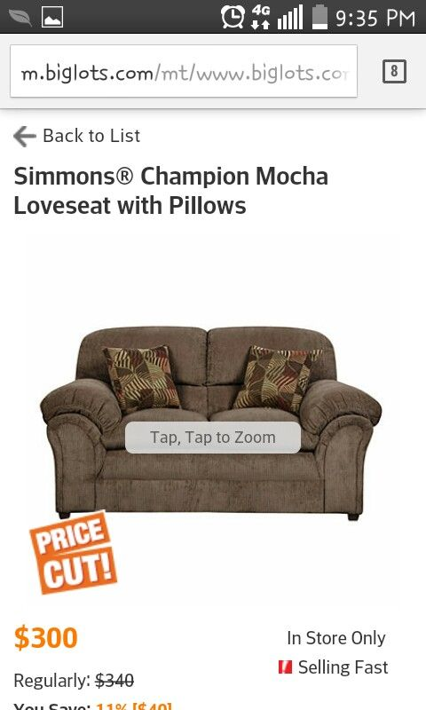 Big Lots Couch