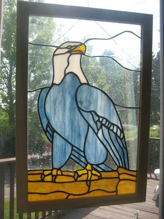 17 Best Images About Stained Glass Eagles On Pinterest