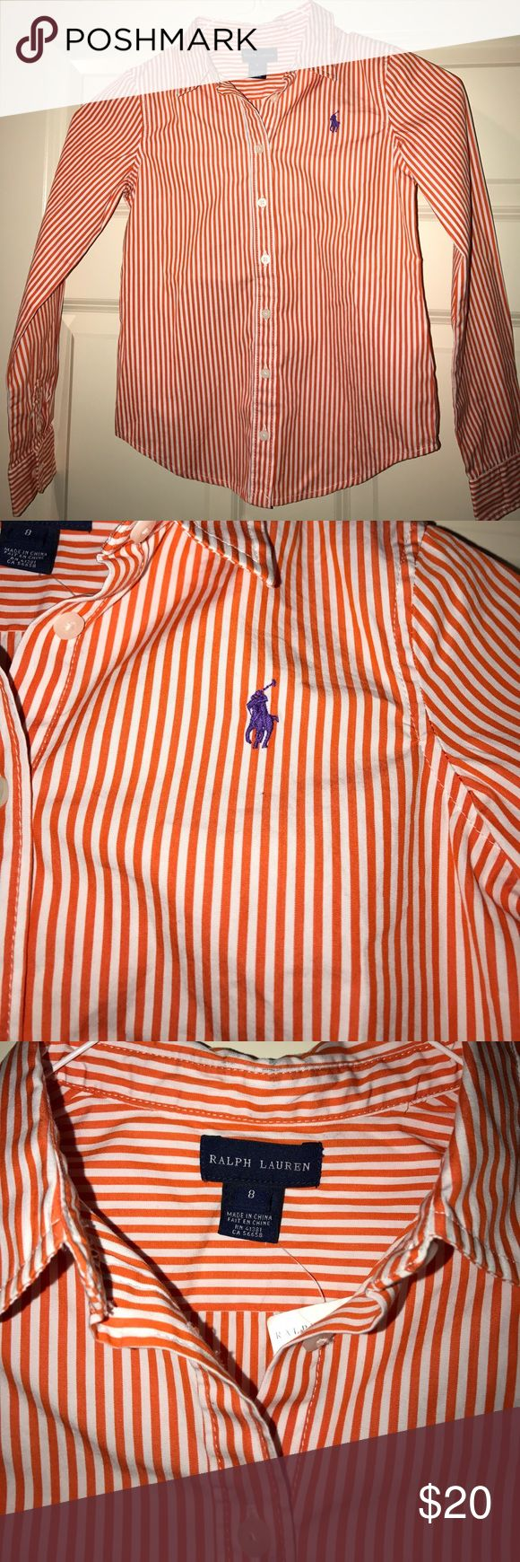 New with Tags Polo Shirt for Kids Never worn. Wrinkles from storage. New condition. Polo by Ralph Lauren Shirts & Tops Button Down Shirts