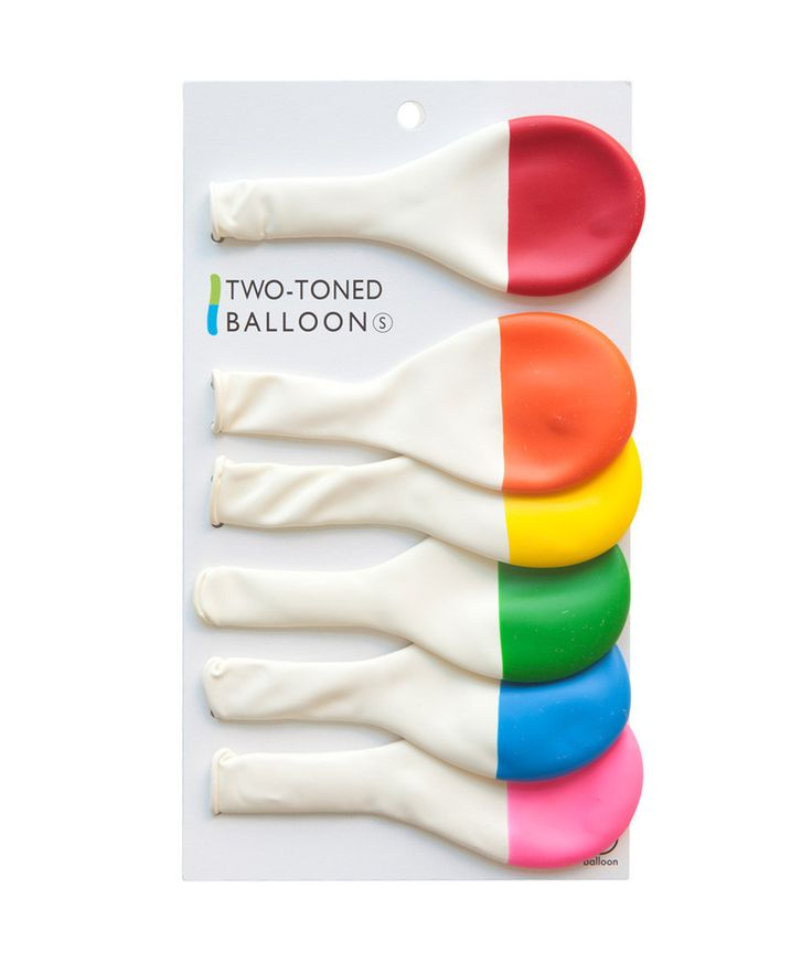 Two-Tone Dipped Balloons