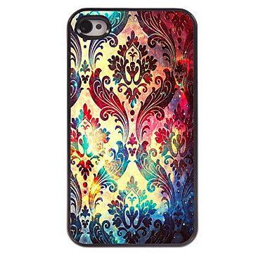 EUR € 4.99 - iPhone 4/4S/iPhone 4 - Per retro - per Pop art/Cartone animato/Teschi/Metallica/Design/Innovativa ( Multicolore , Metallo/ABS ), Gadget a Spedizione Gratuita da MiniInTheBox!