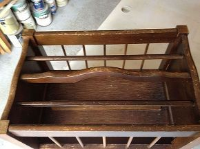 magazine rack to baby doll crib, diy, repurposing upcycling