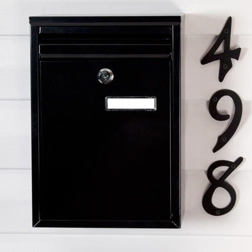 Zaguan+Locking+Wall-Mount+Mailbox