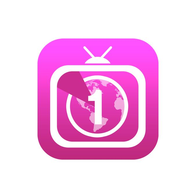 iOS 7-style iPhone app icon for World TV Countdown app by Mackymunoz