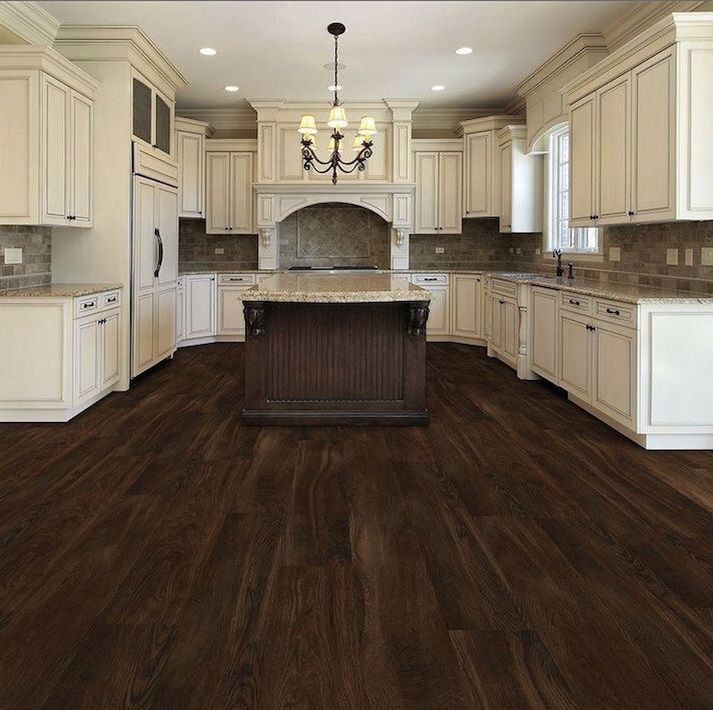 LOVE THIS SO MUCH!! Especially how the flooring looks with the color of the cabinets! And  the layout is amazing