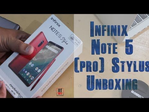 Infinix note 5 stylus come with 64GB ROM and 4 GB of RAM
