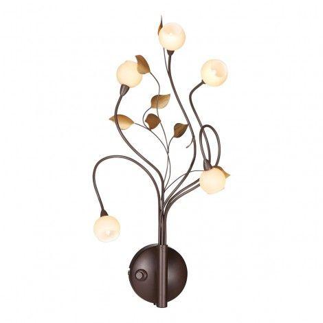 Nostalux wandlamp wandlampen Viridiflora Wandlamp 7142B