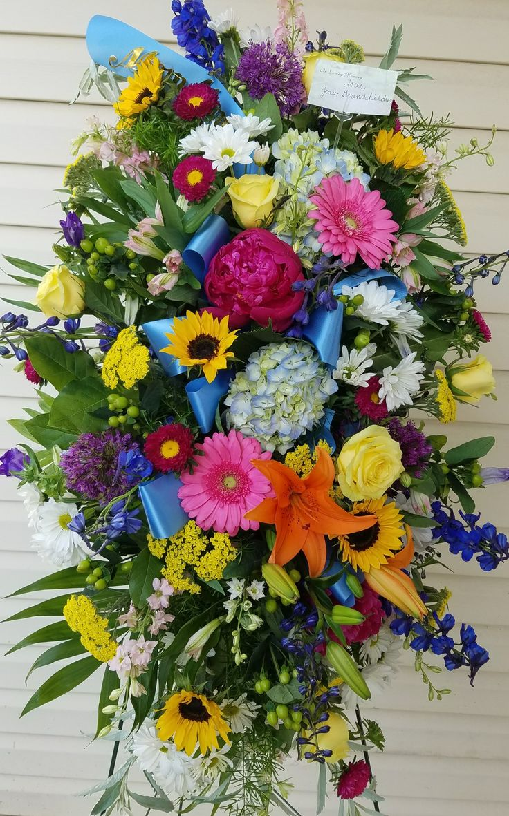 38 best funeral flowers images on pinterest floral arrangements funeral flowers izmirmasajfo