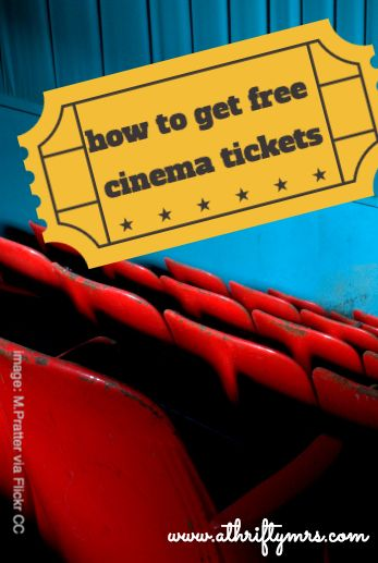 A Thrifty Mrs | A fun money saving blog: How to get free cinema tickets