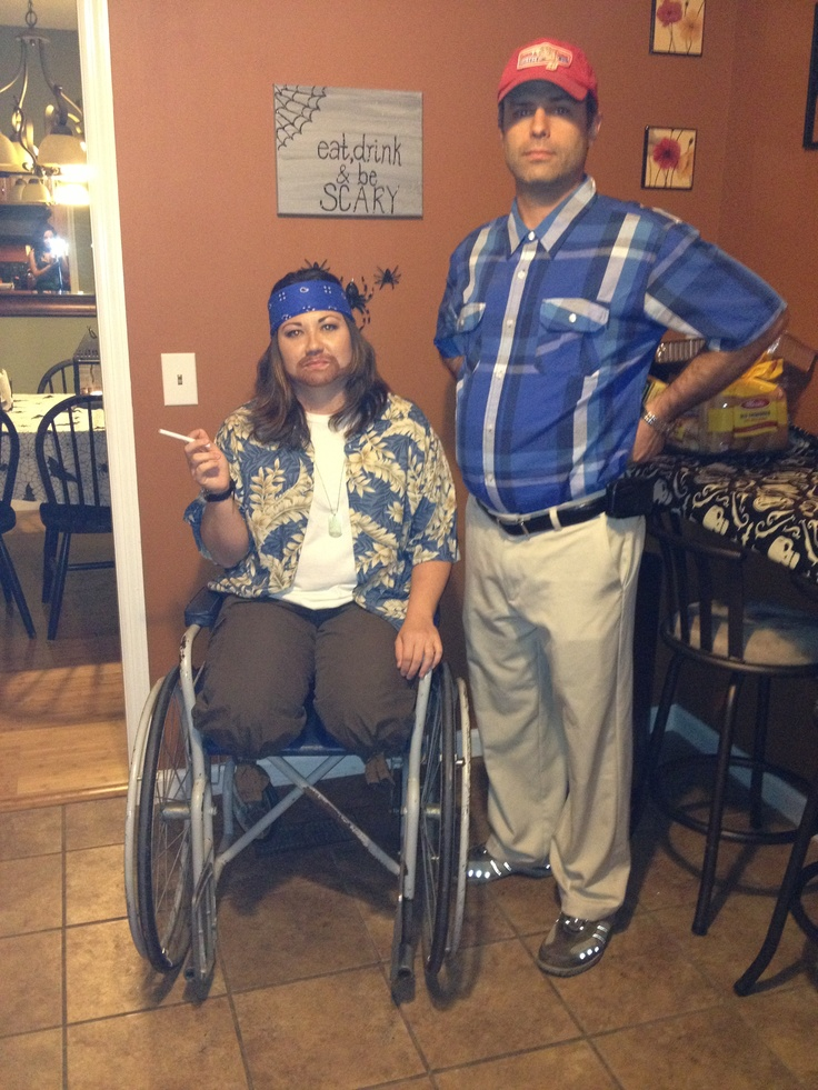 Funny couples halloween costume.