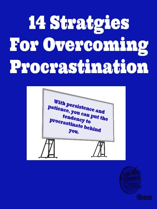 strategies for overcoming procrastination Learn how to overcome procrastination and enjoy guilt-free play one of the most effective programs to combat procrastination, the now habit has sold over.