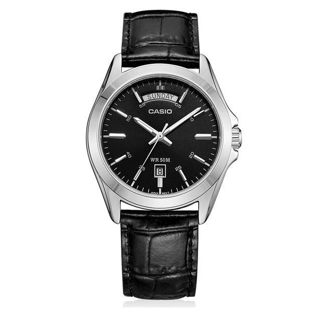 48383a14709 Casio watch Top Luxury Brands Wristwatch Men s Watches Silvery Casual Man  Watch Retro Original Relogio Masculino Steel MTP-1370L