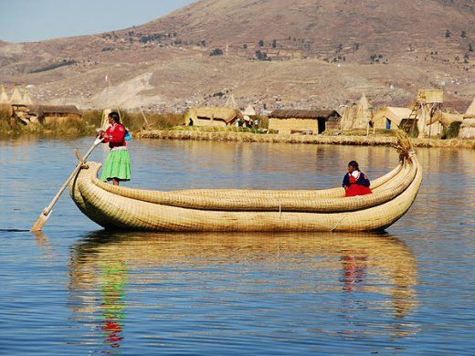 Lake #Titicaca, situated between Bolivia and Peru is right in the birth place of the ancient #Inca Empire.  The Inca civilisation revered Lake Titicaca, believing it was the place the Sun God ordered the first Inca to rise from its waters to form the beginnings of the Inca Empire, establishing its position as a sacred place for the Inca people.