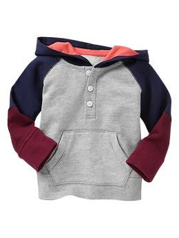 Colorblock hoodie (Gap 0-24m)
