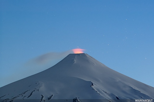 Villarrica Volcano, Villarrica National Park, South of Chile.