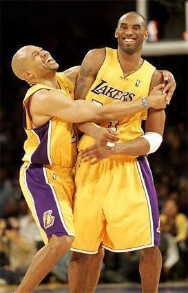 Derek Fisher & Kobe Bryant