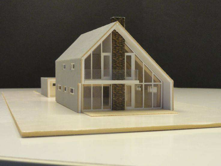 Moderne woning, momenteel wordt deze woning gerealiseerd in Oud-Alblas