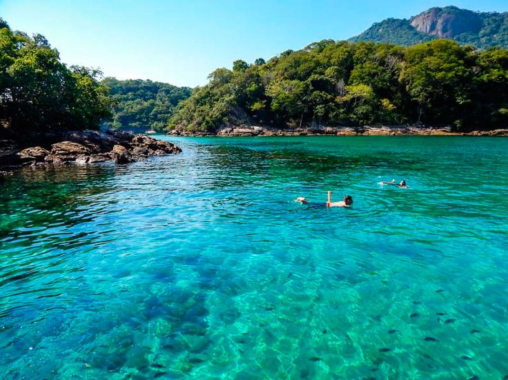 Praias Azuis do Brasil - Lagoa Azul, Ilha Grande (Foto: Ilha Grande Online)