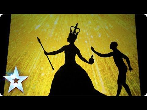 ▶ Shadow theatre of Attraction with a Great British montage | Final 2013 | Britain's Got Talent 2013 - YouTube