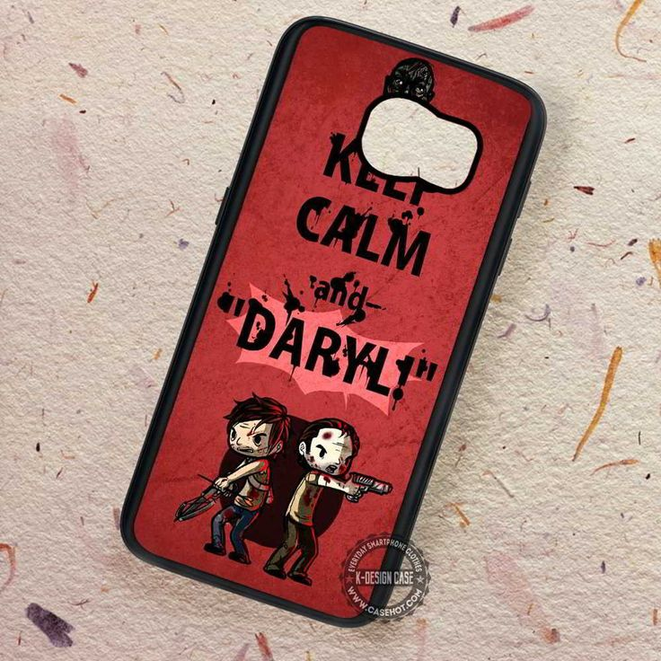 Keep Calm and Daryl Dixon - Samsung Galaxy S7 S6 S5 Note 7 Cases & Covers