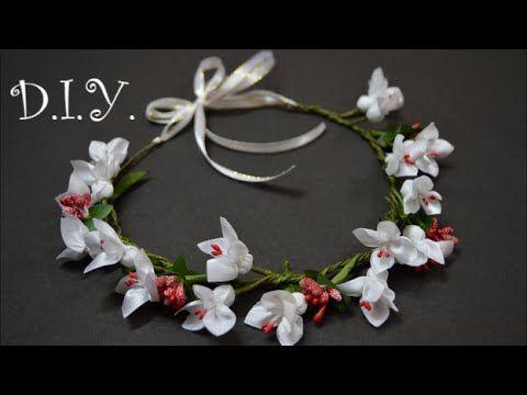 ✾ ❀ ❁ D.I.Y. Flower Crown Tutorial ✾ ❀ ❁. Link download: http://www.getlinkyoutube.com/watch?v=igwgv6poXZ4