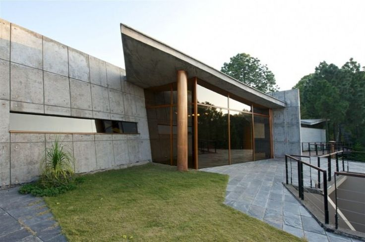38 Best Extraordinary Modern Concrete House Images On