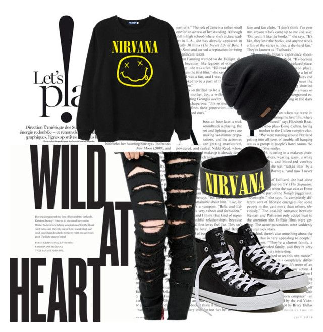 Nirvana by stelamahomie on Polyvore featuring Chicnova Fashion and Coal