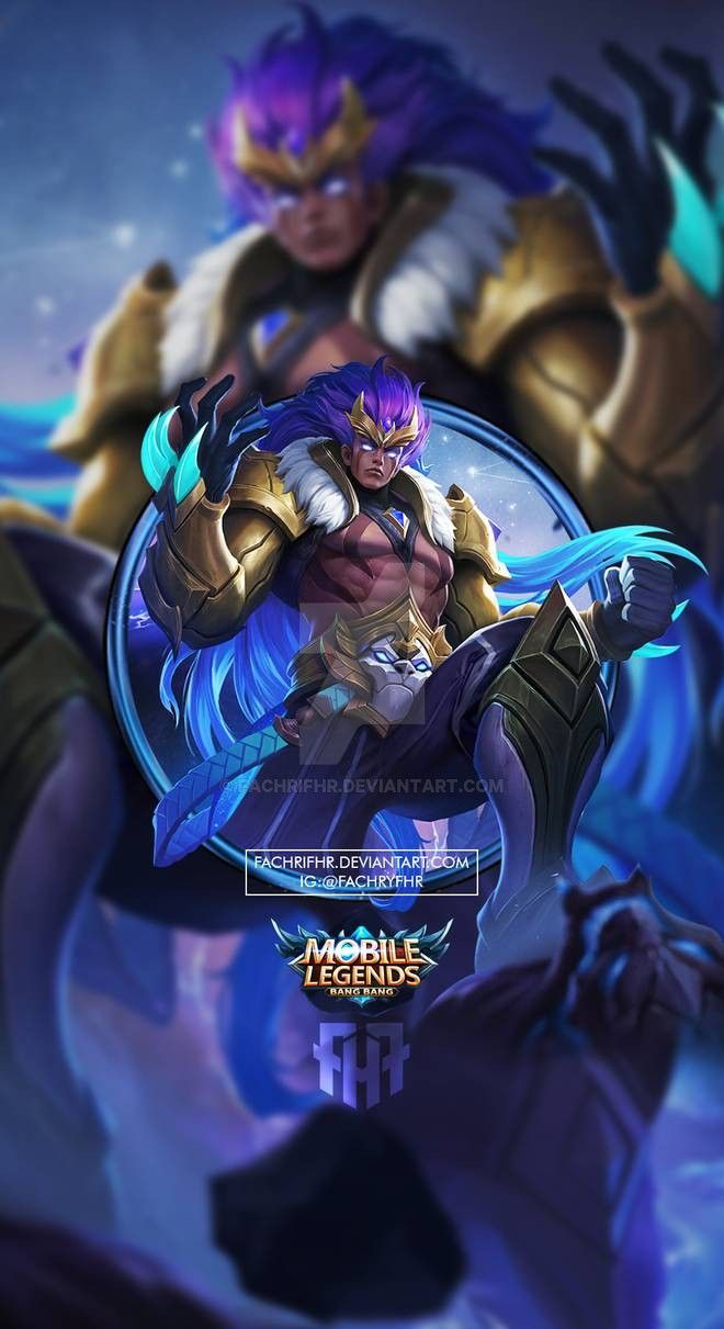 Wallpaper Phone Badang Zodiak Leo By Fachrifhr On Deviantart In 2020 Mobile Legend Wallpaper Alucard Mobile Legends Miya Mobile Legends