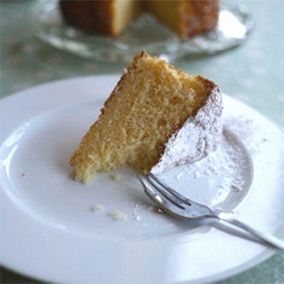 Paleo Lemon Chiffon Cake