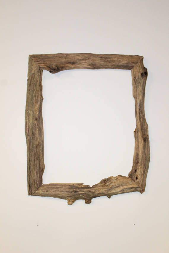 Handcrafted Driftwood 16x20 Picture Frame