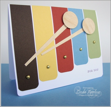 xylophone card