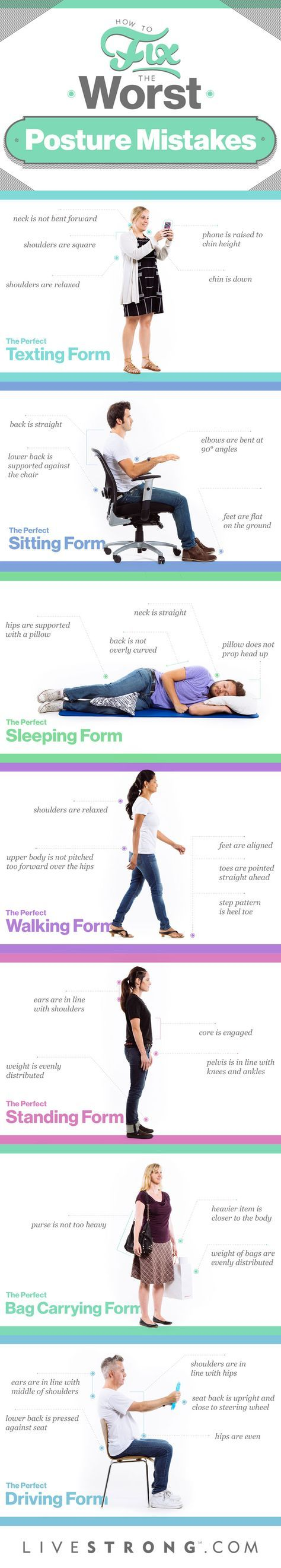 Your mother was right -- good posture is important!