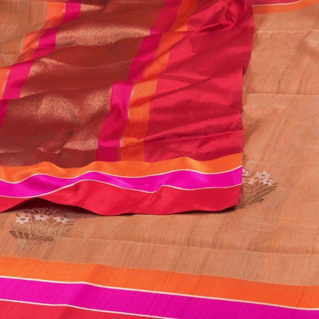 Shivangi Kasliwaal Banarasi Tussar Silk Sari 10000506 - AVISHYA.COM