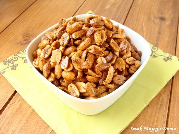 Smak Mojego Domu: Orzechy arachidowe z papryką