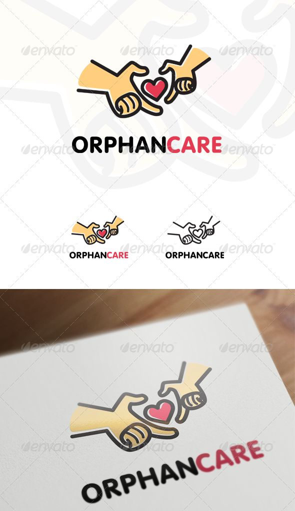 Orphan Care  Children & Family Logo — Vector EPS #orphan #kids • Available here → https://graphicriver.net/item/orphan-care-children-family-logo/6855618?ref=pxcr