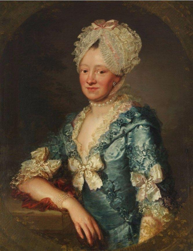 ab. 1780Johann Ernst Heinsius- Portrait of a...   History of fashion in art & photo