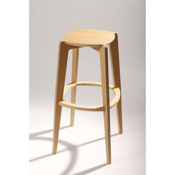 Our Bolero 4 Legged Bar Stool Oak Finish by designer Mindaugas Zhilionis is a modern beauty crafted at the cutting edge of design.  sc 1 st  Pinterest & 7 best Kitchen counter stool ideas images on Pinterest | Kitchen ... islam-shia.org