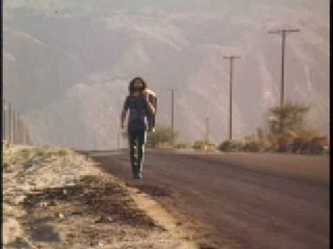 JIM MORRISON/HWY. Jim's movie about a hitchhiker in the desert. A must see.