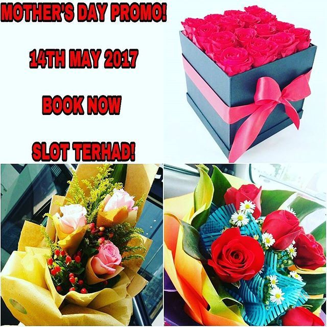 MOTHERS DAY DELIVERY SURPRISE PROMO!!!. . ***BOX OF ROSES AVAILABLE AT RAWANG,SELANGOR AREA**** .. Please Do Get our contact number OR direct click on our whaatsaap link in bio TO PLACE YOUR ORDER AND GET MORE INFO 😉…