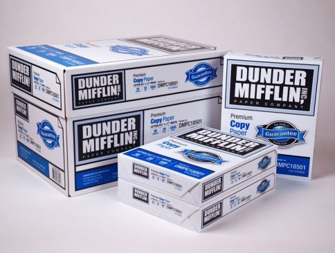 How times have changed for Dunder Mifflin. The paper brand from The Office, which was defictionalized in 2011 when NBC teamed up with Quill (part of Staples) to market real Dunder Mifflin paper, is getting its first Super Bowl ad. And it's calling on the unwashed masses to make it. Submit your entries through the Tongal crowdsourcing platform. The chosen ad will air during the Super Bowl in Scranton, Pa. (where the fictional company is located), and the maker gets $15,000.