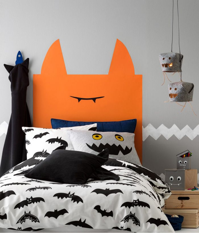 monster theme in kids room - new H&M collection for halloween