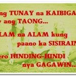 Tagalog Quotes About Friendship Fair Best 25 Quotes About Friendship Tagalog Ideas On Pinterest  In