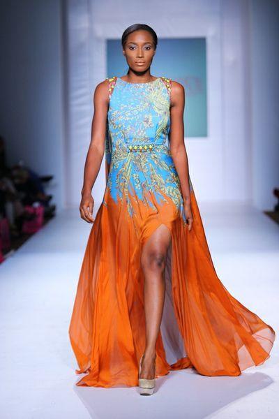 MTN Lagos Fashion & Design week: Spring/Summer 2013 Mattew Williamson