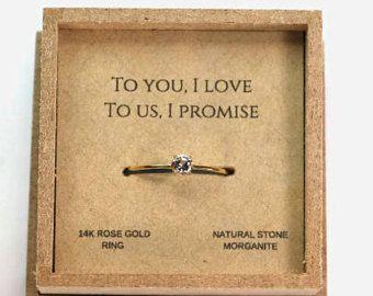 promise ring for her, gift for women, Christmas gift for her, girlfriend ring, love ring, promise ring for girlfriend, romantic gift