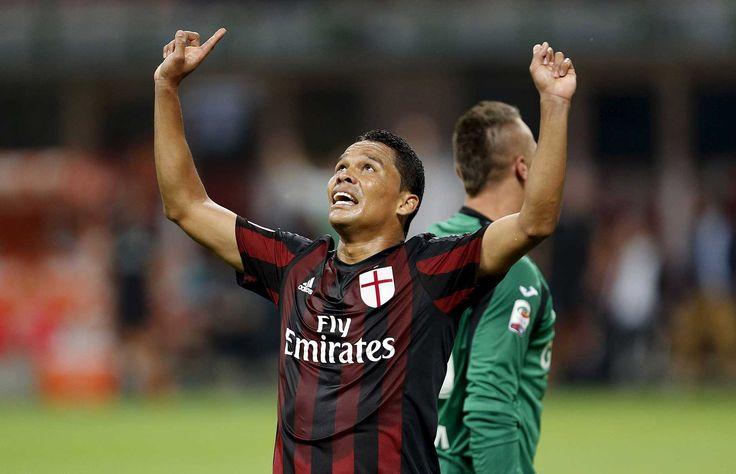 Un gol en la primera mitad del colombiano Carlos Bacca y otro, tras el descanso, del brasileño Luiz Adriano dieron al Milán una sufrida victoria sobre el Empoli (2-1), en la segunda jornada de la Serie A italiana.